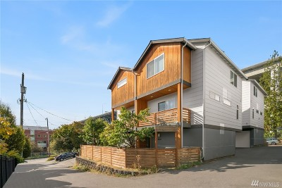 Seattle Single Family Home For Sale: 4020 Pasadena Place NE