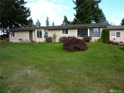 Centralia Single Family Home For Sale: 6520 201st Ave SW