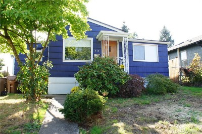 Tacoma Single Family Home For Sale: 410 S 57th St