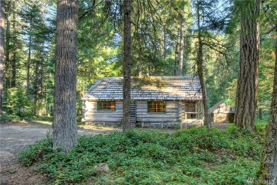 Greenwater Single Family Home For Sale: 132 Silver Springs Usfs