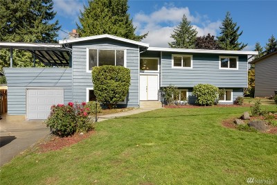 Kirkland Single Family Home For Sale: 8610 NE 137th St