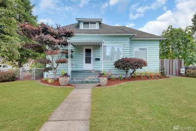 Puyallup Single Family Home For Sale: 517 4th St NW