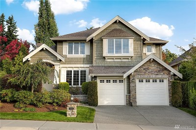 Sammamish Single Family Home For Sale: 27502 SE 28th Place