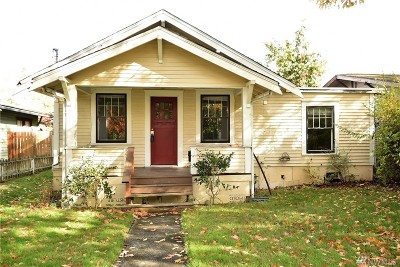 Bellingham Single Family Home For Sale: 2908 James St