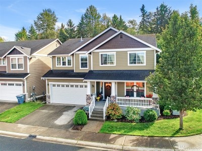 Puyallup Single Family Home For Sale: 9704 186th St E
