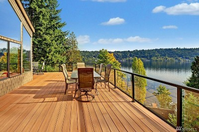 King County Single Family Home For Sale: 2244 W Lake Sammamish Pkwy NE