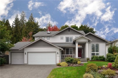 Sammamish Single Family Home For Sale: 1713 232nd Ave NE