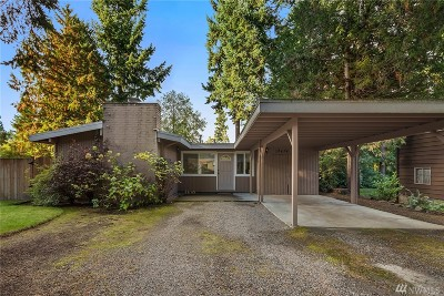 Kirkland Single Family Home For Sale: 12424 NE 72nd St