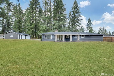 Spanaway Single Family Home For Sale: 6404 224th St E