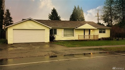 Centralia Single Family Home For Sale: 2518 Borst Ave