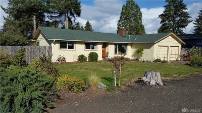 Shelton WA Single Family Home For Sale: $237,499