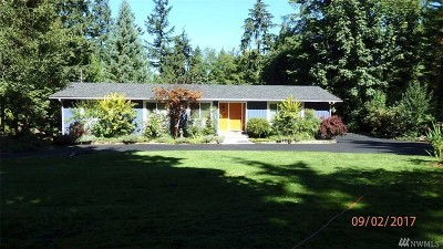 Woodinville Single Family Home For Sale: 21522 NE 165th St