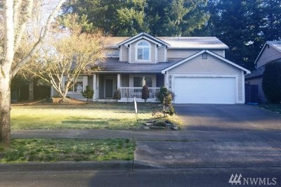 Lacey Single Family Home For Sale: 5512 Komachin Loop SE