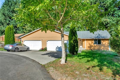 Puyallup Multi Family Home For Sale: 8101 109th St E