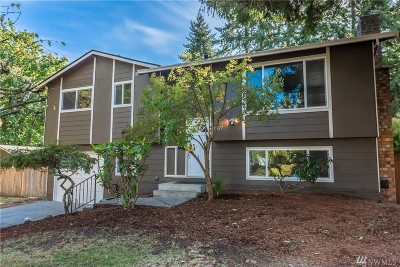 Bothell Single Family Home For Sale: 11127 NE 154th St
