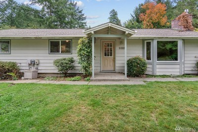 Gig Harbor Single Family Home For Sale: 6505 Ray Nash Dr NW
