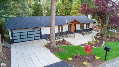 Bellevue Single Family Home For Sale: 3435 103rd Place NE