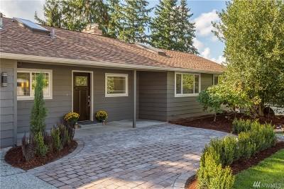 Bellevue Single Family Home For Sale: 16021 NE 2nd St