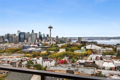 Seattle Condo/Townhouse For Sale: 100 Ward St #603