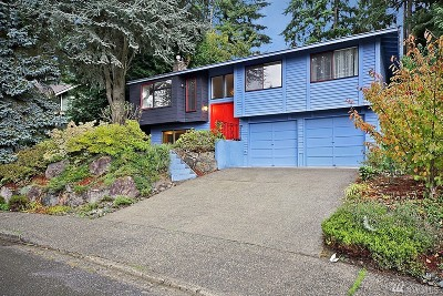 Bellevue Single Family Home For Sale: 2012 165th Place SE