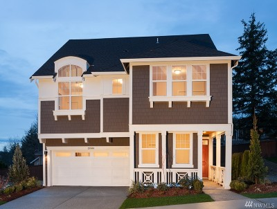Sammamish Single Family Home For Sale: 874 224th Ave NE #LOT24