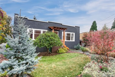 Seattle Single Family Home For Sale: 353 N 81st St