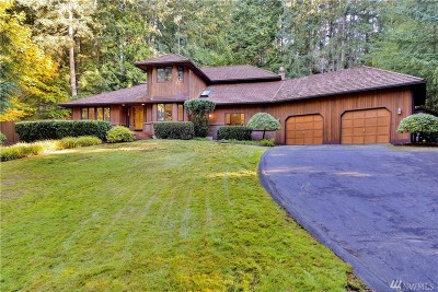 Woodinville Single Family Home For Sale: 19940 190th Ave NE