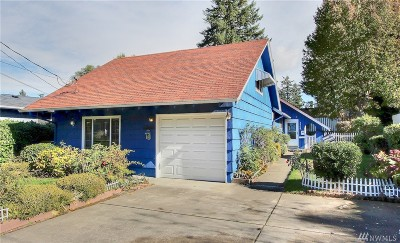 Tacoma Single Family Home For Sale: 3409 S Tyler St