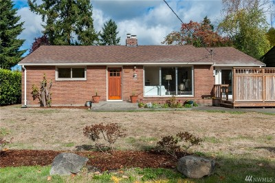 Seattle Single Family Home For Sale: 1516 N 121st St