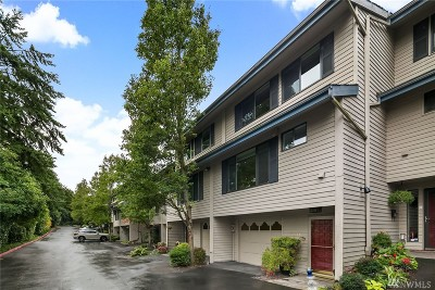 Mercer Island Condo/Townhouse For Sale: 7611 29th St