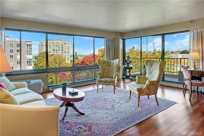 Seattle Condo/Townhouse For Sale: 1120 Spring St #702