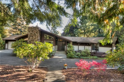 Olympia Single Family Home For Sale: 4005 Sleater Kinney Rd NE