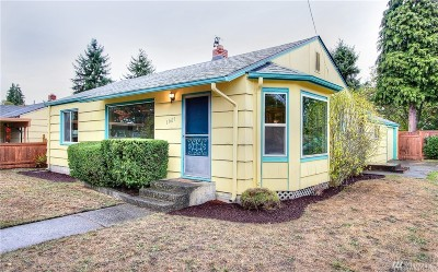 Tacoma Single Family Home For Sale: 11615 Park Ave S