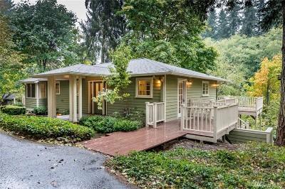 Vashon WA Single Family Home For Sale: $695,000