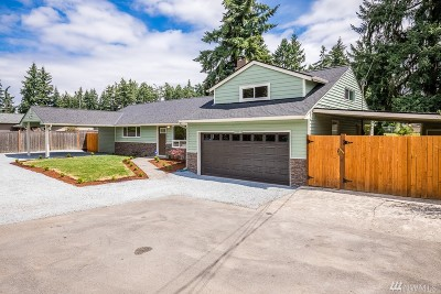 Puyallup Single Family Home For Sale: 12621 94th Ave E