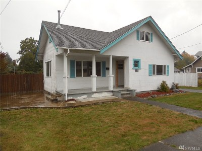Centralia Single Family Home For Sale: 811 S Silver
