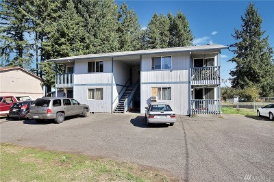Spanaway Multi Family Home For Sale: 20011 30th Ave E