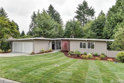 Bellevue Single Family Home For Sale: 68 165th Ave SE
