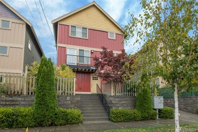 Seattle Single Family Home For Sale: 842 NW 52nd St
