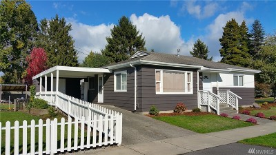 Bellingham Single Family Home For Sale: 2000 Jefferson St