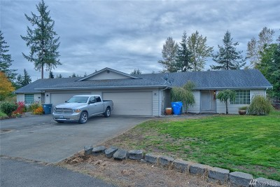 Spanaway Multi Family Home For Sale: 24218 44th Av Ct E