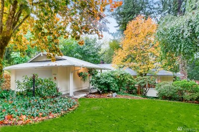 Bellevue Single Family Home For Sale: 16434 SE 42nd Place