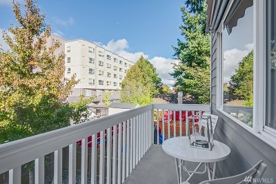 Seattle Single Family Home For Sale: 12723 35th Ave NE #C