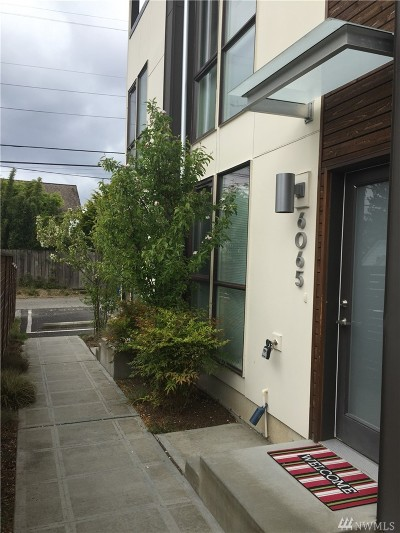 Seattle Rental For Rent: 6065 California Ave SW