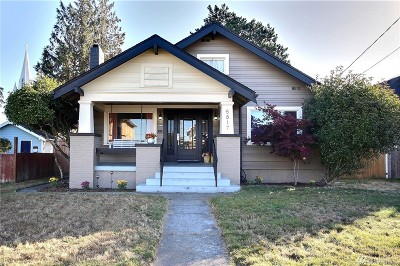 Single Family Home For Sale: 5817 S Puget Sound Avenue S