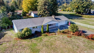 Puyallup Single Family Home For Sale: 11402 Sr 162 E