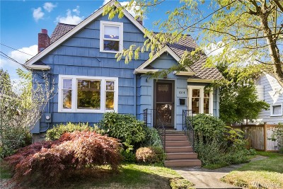 Tacoma Single Family Home For Sale: 1014 N Washington