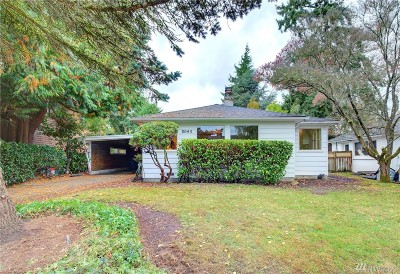 Seattle Single Family Home For Sale: 8043 42nd Ave NE