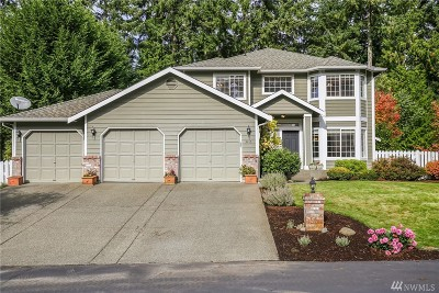Gig Harbor Single Family Home For Sale: 3415 59th St Ct NW