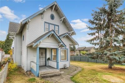 Tacoma WA Single Family Home For Sale: $229,000
